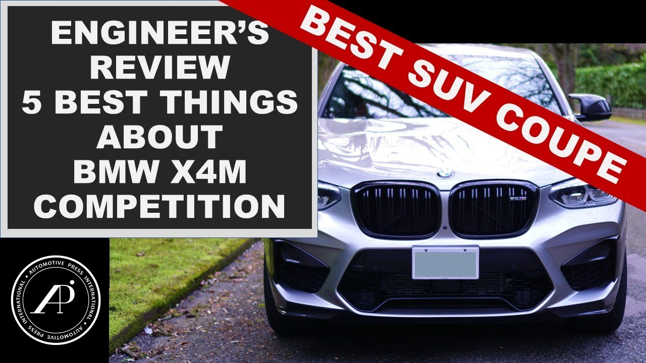 WORLD'S BEST PERFORMANCE SUV - The BMW X4M Competition is the new benchmark!