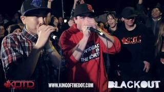 KOTD - 2X2 Beatbox Battle - Scott Jackson & KrNfX vs Subconcious & Killa Beatz