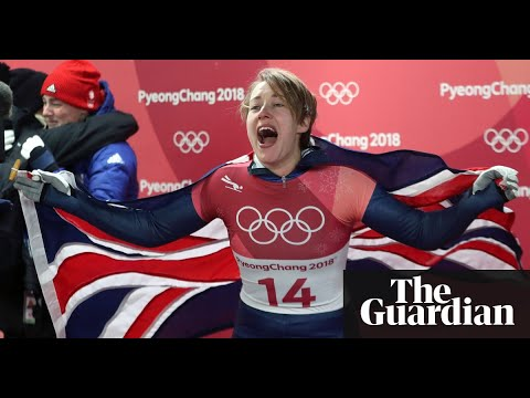 Lizzy Yarnold takes skeleton gold to make Winter Olympics history for Britain