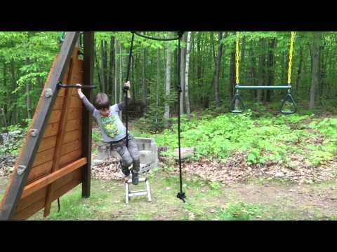 Jacksons American Ninja Warrior Backyard Course - YouTube