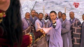 Hư Trúc tái hiện 72 Tuyệt Kỹ Thiếu Lâm của Đạt Ma Sư Tổ đánh bại Cưu Ma Trí | Thiên Long Bát Bộ