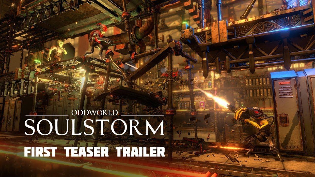 Lorne Lanning Talks Oddworld's Transmedia Future, Teases Big Switch on