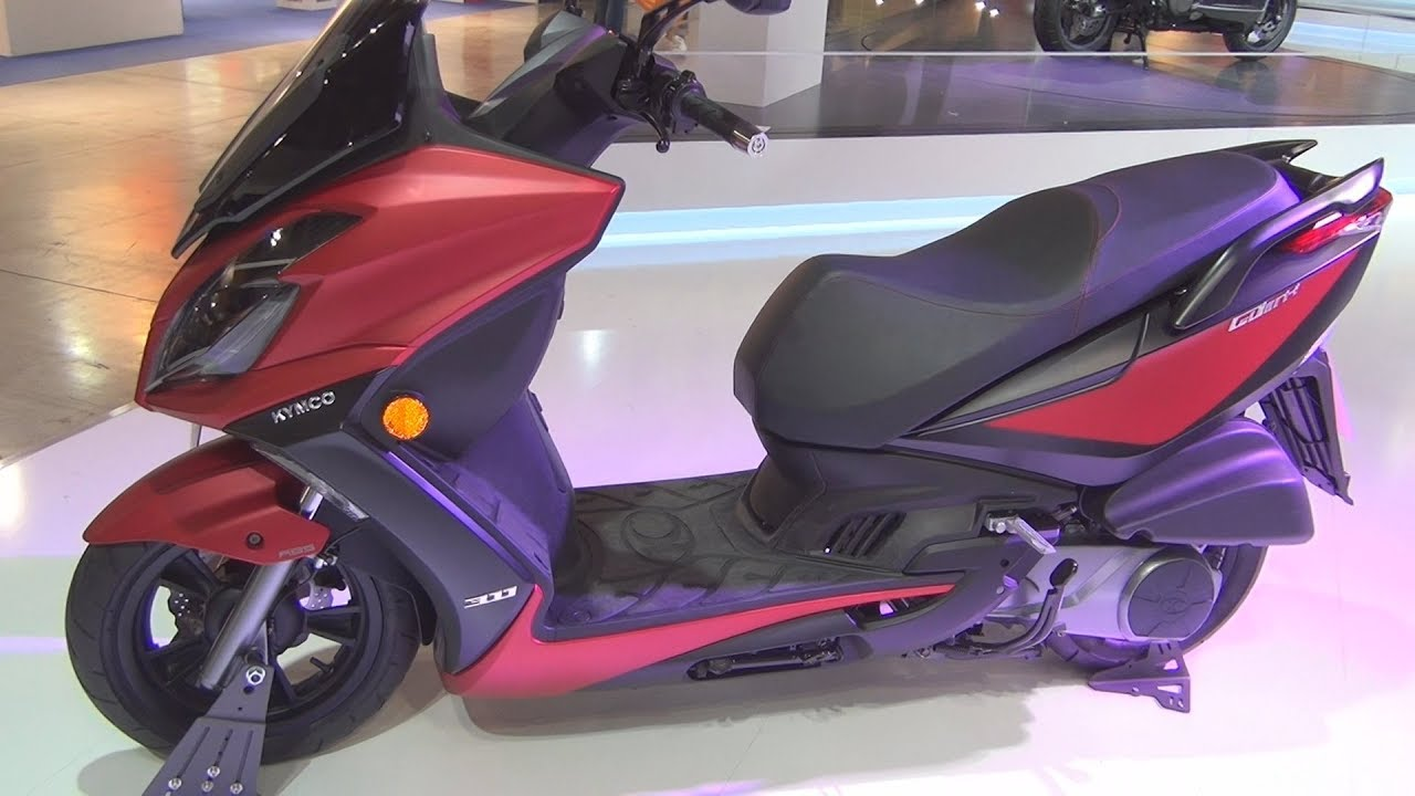 Kymco G-Dink 300i ABS (2017) Exterior and Interior - YouTube