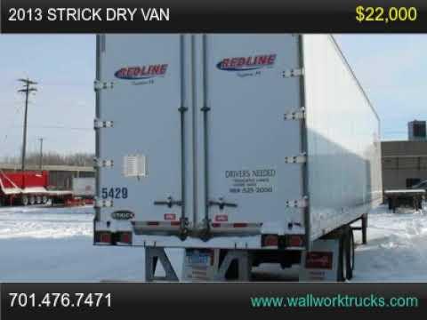 2013 Strick Dry Van For Sale, Fargo, North Dakota