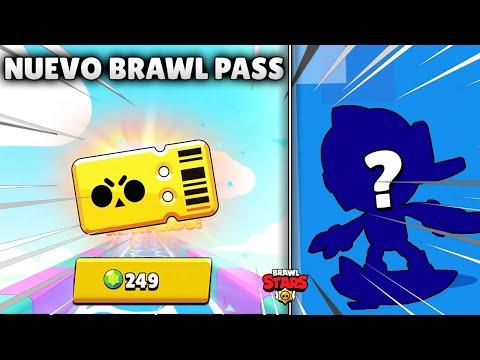 COMPRO EL NUEVO BRAWL PASS Y LO REGALO 🎁 BRALW STARS
