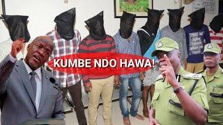 Hatimaye wale watu wasiojulikanaga wakamatwa,waongea mazito,Wautaja usalama,Mbatia anusurika!