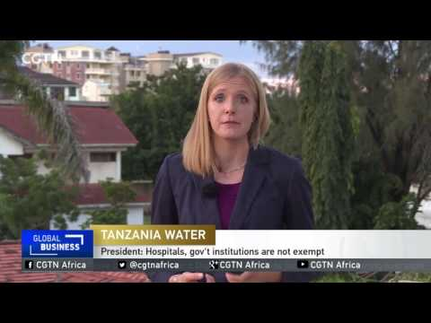 President Magufuli orders water bill defaulters to be cut off