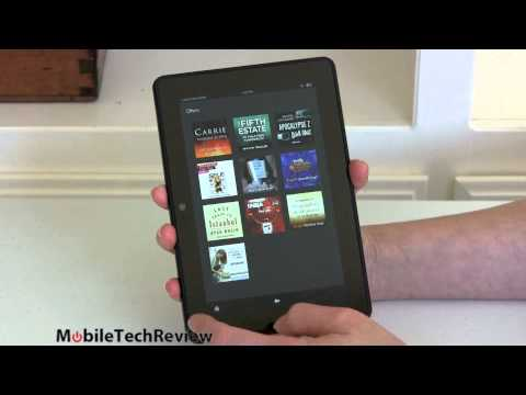 Amazon Kindle Fire Hdx Tablet Review