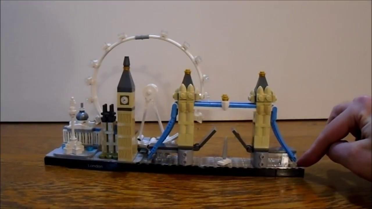 Lego Architecture Set 21034 London Time Lapse Build Youtube