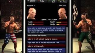 MMA Pro Fighter iPhone App