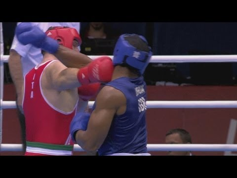 Anthony Joshua Wins Super Heavyweight Boxing (+91kg) Gold - London 2012 Olympics