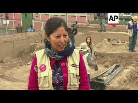 Chinese burials from XIX century found in Peru
