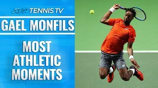 Gael Monfils: Most Epic Athletic Moments!