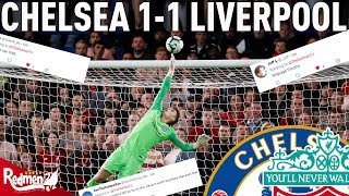 Chelsea v Liverpool 1-1 | #LFC Fan Reactions