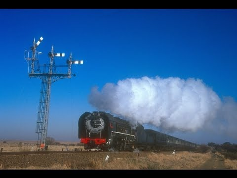 South African Steam: 25NC 3454 Bloemfontein to Bethlehem