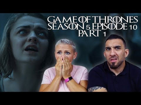 Game Of Thrones Season 5 Episode 10 'Mother's Mercy' Part 1 REACTION!!