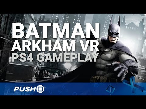 Batman: Arkham VR PS4 Gameplay: Donning the Cowl | PlayStation 4 | PlayStation VR
