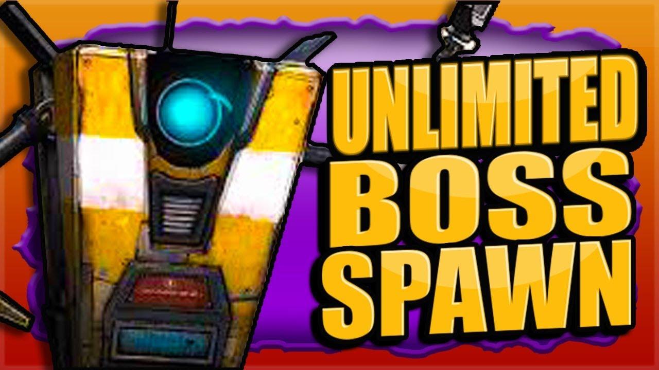 UNLIMITED Boss Spawn (No Restart) Awesome! Legendary Farm DLC 1 BORDERLANDS 3 thumbnail