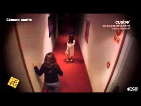 Creepy Girl In Hotel Hallway Prank Youtube