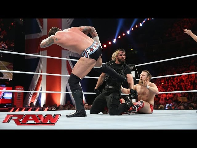 Raw's main event ends in a complete melee: Raw, Nov. 11, 2013 Travel Video