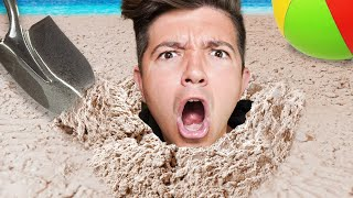 They Made an Actual Beach in My House!  5 Ways to Prank Preston