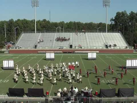 Mid Carolina High School Marching Band 10/13/2012