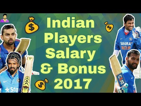 Team India Players Salary and Bonus Details in 2017 Contracted By BCCI