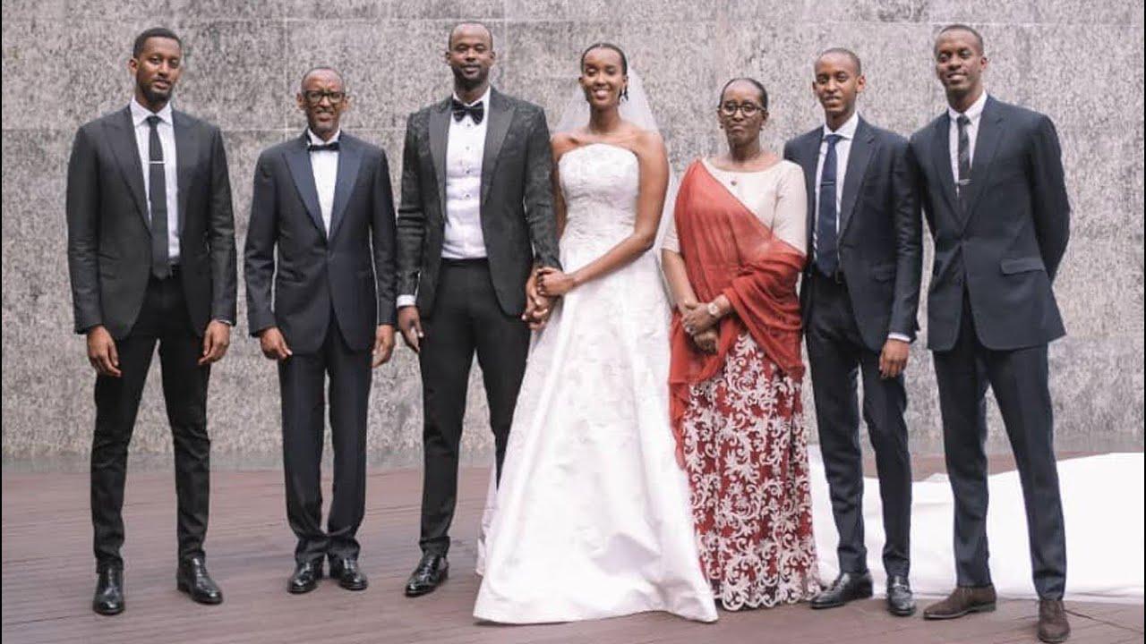 SOMPTEUX MARIAGE DE ANGE KAGAME, FILLE UNIQUE DU PRESIDENT RWANDAIS PAUL KAGAME/ Ange Kagame wedding