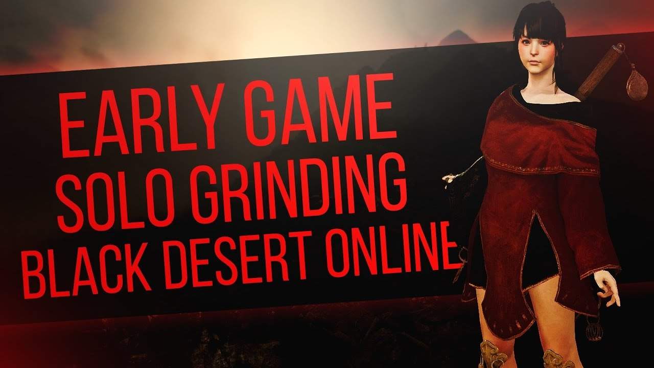 Black Desert Online (Xbox One) - Early Game Solo Grinding (Levels 1-24)