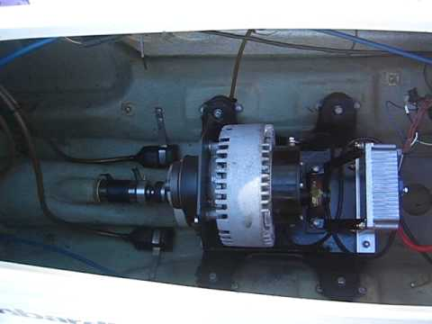 Electric jet ski conversion youtube for Electric outboard motor conversion