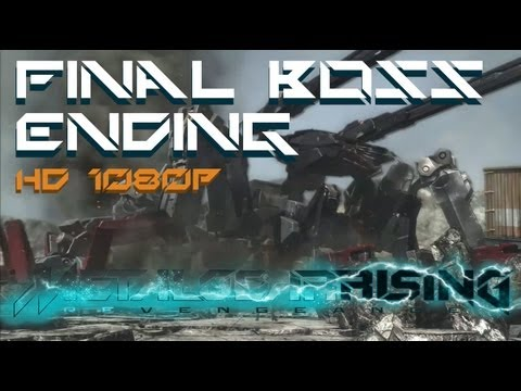 Metal Gear Rising: Revengeance Final Boss + Ending and After Credits Scene (HD 1080p)