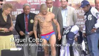 Yuri Foreman Vs Miguel Cotto