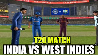INDIA VS WEST INDIES T20 MATCH IN REAL CRICKET 19
