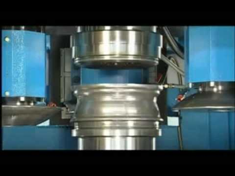 wheel flow forming-spinning machines - Global Metal Spinning Solutions - DENN USA Metal Forming
