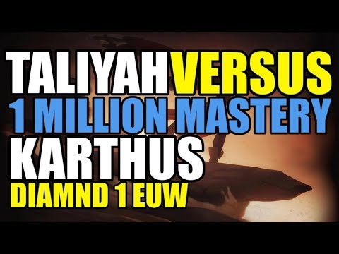 Taliyah vs 1 MILLION Mastery Points Karthus – Taliyah MID Guide – Diamond 1  EUW – League of Legends