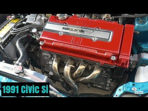 Skunk2 V2 Alpha Header Install – 1991 Civic Si B16A