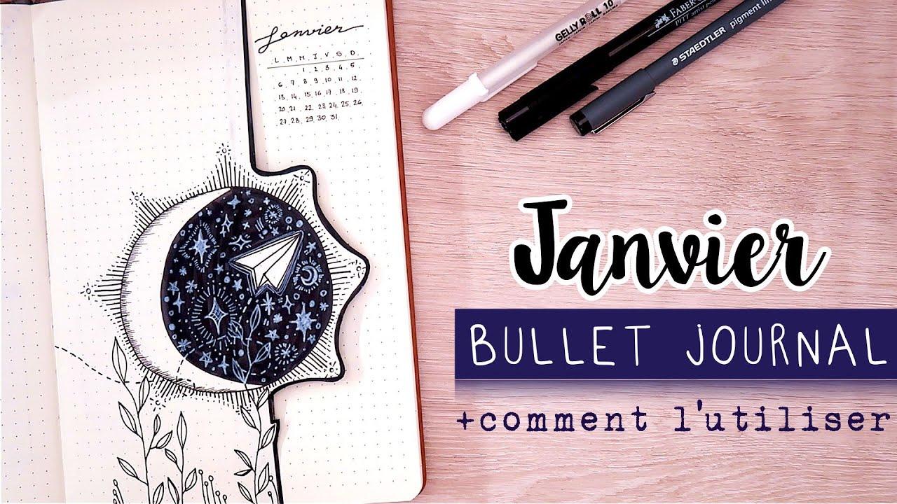 Bullet Journal Janvier 2020 | ORGANISATION