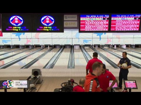Trios Squad 2 Block 2 (Camera 1) - World Bowling Men's Championships