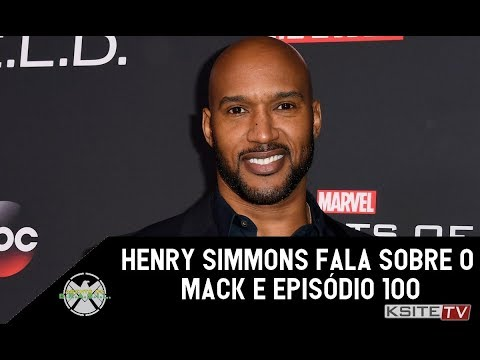 SHIELD100  Henry Simmons fala sobre o Mack e episódio 100.