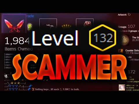 2K ITEMS - LVL132 CS:GO SCAMMER ACCOUNT - FAILED SCAM ATTEMPT