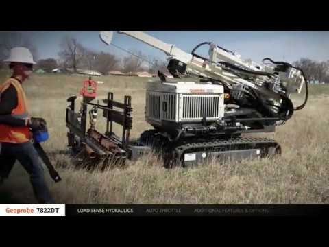 Geoprobe® 7822DT Drill Rig Overview