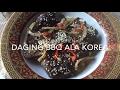 Daging BBQ Ala Korea Yang Sangat Sedap