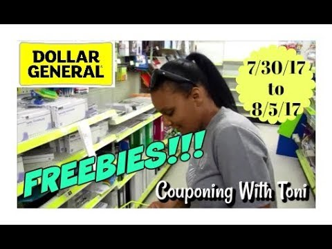 Dollar General 7/30/17 | FREE FREE FREE ~ Hurry Before They Are Gone!