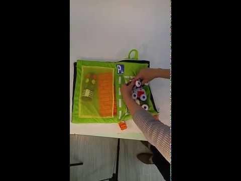 Biba Toys Mini City Soft Car Playset