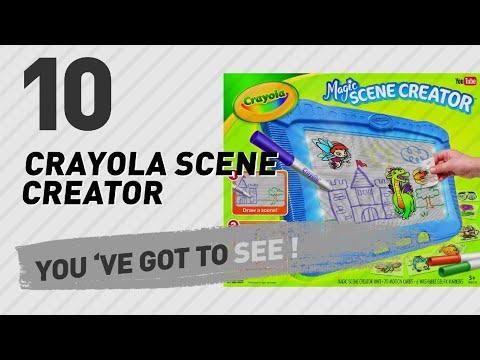 Crayola Scene Creator // The Most Popular 2017