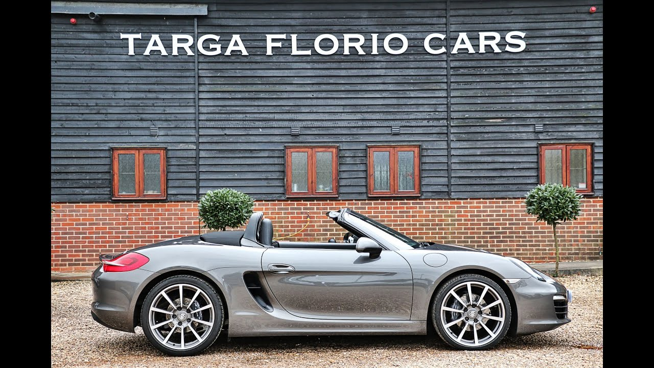Porsche Boxster 981 2 7 Pdk Automatic In Agate Grey With