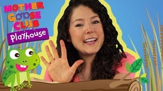 Five Green and Speckled Frogs | Mother Goose Club Playhouse Kids Video thumbnail