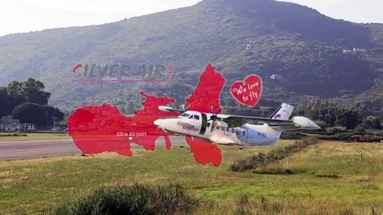 Aeroporto Elba : Silver air italia elba airport youtube
