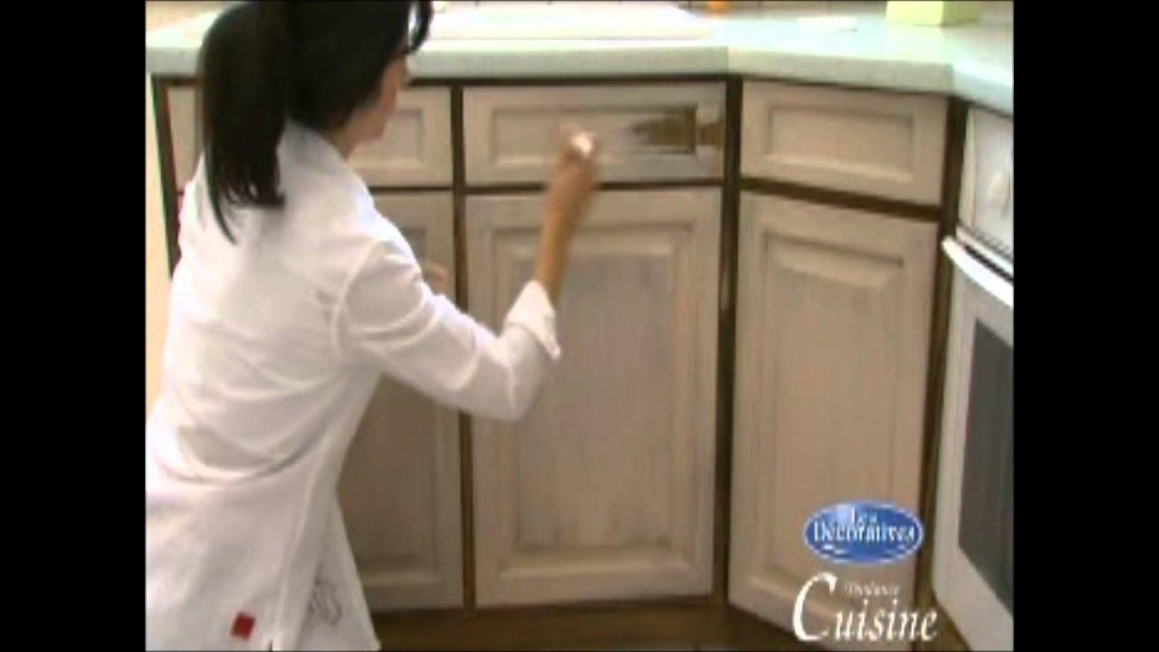 Como aplicar una pintura efecto anticuario a tus muebles de cocina y ...