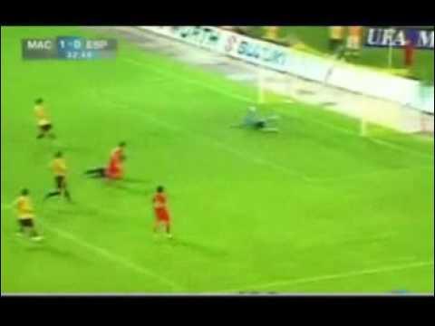 """Video Macedonia – Tây Ban Nha  """"Bò tót"""" g p d i th    Video Macedonia Tay Ban Nha Bo tot gap doi thu   24H COM VN"""